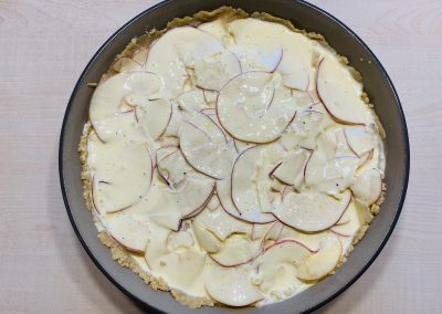 Apfel- Quark- Kuchen