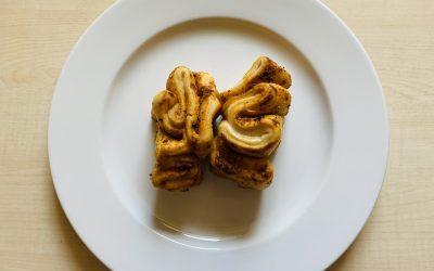 Bruschetta Faltenbrot raffiniert