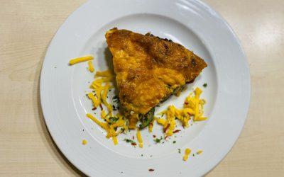 Frittata mit Gemüse und Speck