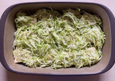 Maultaschenauflauf mit Zucchini