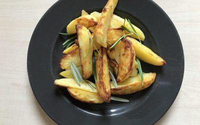Kartoffelspalten aus der Ofenhexe