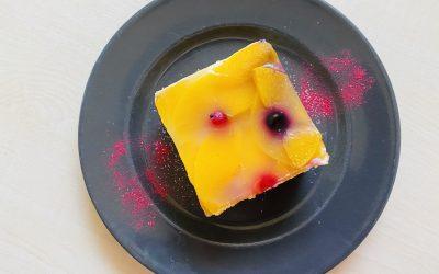 Pfirsichschnitten richtig lecker