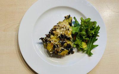 Quetschkartoffeln mit Pilzen